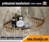 Cestino del sapone di rivestimento dell'oro degli accessori della stanza da bagno di acciaio inossidabile