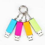 OEM van de Aandrijving van de Flits USB de Stok van het Geheugen van de Flits van de Kaart van het Geheugen van de Duim USB van de Aandrijving van Pendirves USB 2.0 van de Stok van de Schijf USB van de Flits van de Omwenteling USB van het Metaal van het Embleem