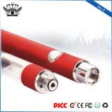 Grandes batteries rechargeables 3.7V d'E-Cigarette de la vente en gros 510 de la vapeur 350mAh