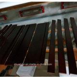 Porta de madeira interior da madeira contínua da porta da venda quente a preço do competidor