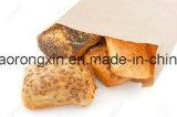 El doble echa a un lado papel de Kraft cubierto el PE para el bolso del embalaje del pan