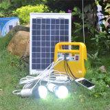 nécessaire solaire du panneau 10W portatif pour l'éclairage de remplissage, ordinateur portatif