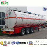 Sales를 위한 3개의 차축 46cbm Fuel 또는 Oil Tanker Semi Trailer
