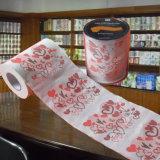 O costume do papel higiénico dos Valentim imprimiu o rolo do gabinete