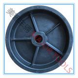 6X1.5 het Stevige Wiel van de Kar van de Kipwagen van het Stuk speelgoed van de Band van pvc
