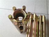 Garniture intérieure augmentée d'or de bobine d'acier inoxydable de zinc pour le béton préfabriqué