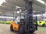 6m 고도를 가진 3배 돛대 3000kg 디젤 엔진 포크리프트