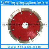 Disques segmentés de diamant segmentés pour la coupe de granit en céramique
