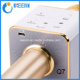Microfone de condensador sem fio de Bluetooth do mini karaoke Ls-Q7 profissional portátil