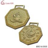 Médaillon fait sur commande d'or en métal de logo (LM1012)