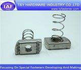 Noix de ressort d'acier inoxydable de prix usine