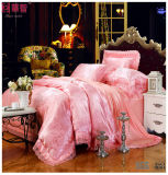 Satin-Baumwollpatchworkduvet-Deckel-Sets