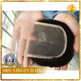 Parte 100% della metà della chiusura del merletto dei capelli umani del Virgin
