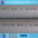 tubo inconsútil/tubo del acero inoxidable de 904L/Uns N08904