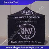 عادة تصميم ظلة طعام ألومنيوم يتاجر عرض رسم بيانيّ خيمة