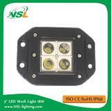 luz caliente auto del trabajo de la venta LED de la luz 16W del trabajo de 10V-30V LED