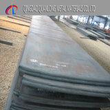 Chapa de aço laminada a alta temperatura de A242 A588 09cucrpni-a Corten