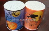 Halloween di plastica LED illumina in su la candela (LP015)