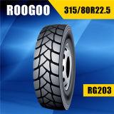Tout le pneu lourd radial en acier pour le camion (315/80R22.5)