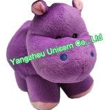 Le CE badine l'hippopotame mol de jouet de peluche de peluche de cadeau