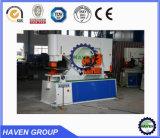 Q35 Machine van het Ponsen en het Scheren van de Arbeider van het Ijzer van Y de Hydraulische hydraulische Gecombineerde met het Inkerven