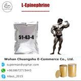 De l-Epinefrine van de Hoogste Kwaliteit van 99% het Ruwe Poeder van de Reeks voor Anafylactische Schok