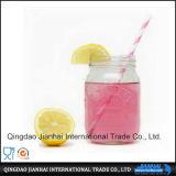 Heißes verkaufendes freies rundes Glasflaschen-Maurer-Glas ohne Griff
