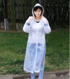 Regenjas voor Vrouwen, de Regenjas van de Zak, de Regenjas van pvc