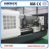 Torneado para corte de metales del CNC Ck6180 de la máquina grande horizontal resistente del torno