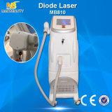 Equipamento grande da beleza da remoção do cabelo do laser do diodo do melhor vendedor 808nm de tamanho de ponto (MB810)