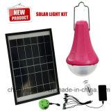 Bewegliches Solar Energy Systems-angeschaltene beleuchtende Solarinstallationssätze mit Telefon-Aufladeeinheit