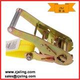 """Um amarelo de 2 """" a pressão lisa engancha X12 da cinta 2 da catraca """""""