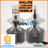 2015新しいGeneration Philp Chips 4500lm LED Headlight Bulbs H7