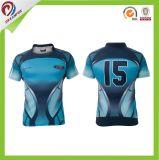 Grande camisola Sublimated da liga do rugby do OEM da venda por atacado da qualidade costume barato
