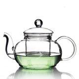 Conjunto de té/crisol/utensilios de cocina de cristal del té
