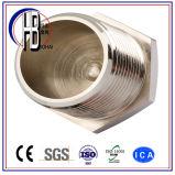 Ajustage de précision de pipe de la fiche Ss316 304 de tête Hex d'acier inoxydable