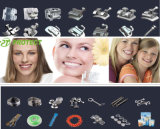 Protéger les brides/bandes matérielles orthodontiques dentaires de tube