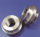 Pièces de usinage de rotation tournées par commande numérique par ordinateur en aluminium d'aluminium de haute précision