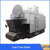 Der 4 Tonnen-Dampfkessel, Kohle, Lebendmasse, Holz feuerte Dampfkessel für Verkauf ab