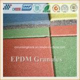 スポーツの表面のための多彩なEPDMのゴム製微粒