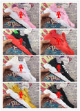 . 남자 & 여자 의 까만 백색 고품질 운동화 3배 Huaraches 살짝 미는 스포츠 단화를 위한 공기 Huarache 2016의 IV 운동화