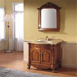 Module de salle de bains antique debout d'étage avec le miroir