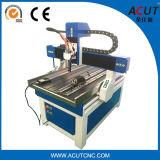 Tallado en madera de 6090 Mini máquina fresadora CNC de 4 ejes con Rotary