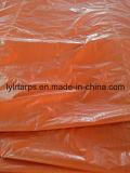 PE imperméable à l'eau Tarpoulin, bâche de protection en plastique