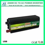 Inversor portátil da potência do carro de 2000W DC24V AC220V (QW-M2000)