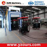 Máquina de capa exportada del polvo y línea de capa automática del polvo