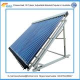 Coletor solar pressurizado de câmara de ar de vácuo exportado