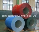 SGCCは電流を通された鋼鉄PPGIコイルか主な品質0.16-0.8mm PPGI/PPGIの鋼鉄コイルをPrepaintedか、またはGIの鋼鉄コイルをPrepainted