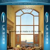 Ventana fija de aluminio con el vidrio Tempered para la decoración interior
