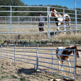 Panneau de frontière de sécurité personnalisé par OEM d'exploitation d'élevage en métal